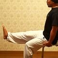 膝の痛み緩和ストレッチ