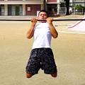 チンニング(懸垂)/公園トレーニング