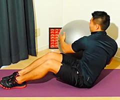 脇腹の筋肉を強く刺激