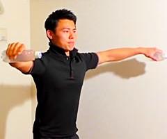 肩(三角筋)を追い込み、引き締める方法