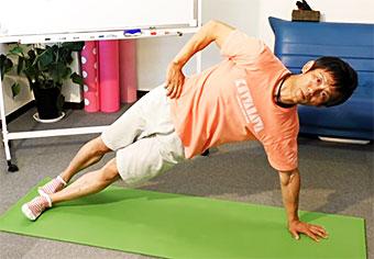 ゴルフの体幹トレーニング(1)