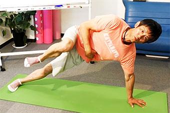 ゴルフの体幹トレーニング(2)