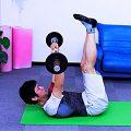 アブローラー補助トレーニング