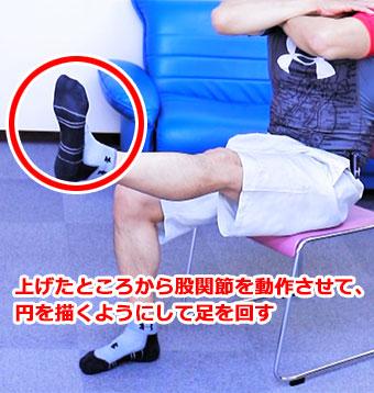 脚回しトレーニング