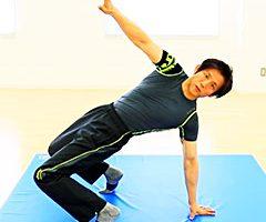 ユニークな体幹トレーニング