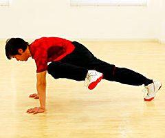 ウエストを引き締める体幹トレーニング