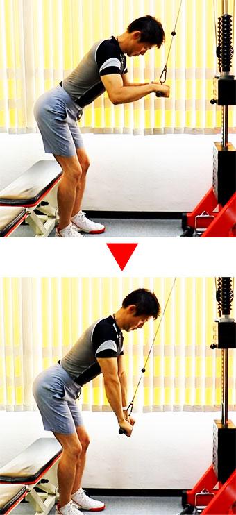 二の腕の筋トレバリエーション